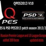 PES 2013 QPES Patch v10 Single Link