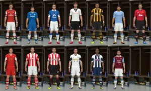 PES 2014 English Premier League Kits Pack 13/14 Download Link