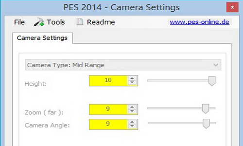 PES 2014 Camera Settings 1.2 (For DLC 2.0+Patch 1.04) by MxSoNiC