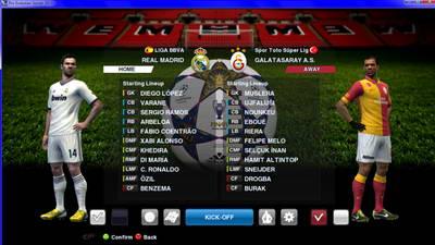 Background Match Adidas Finale Wembley 2013