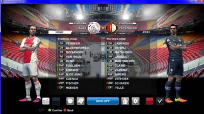 Background Match Amsterdam Arena
