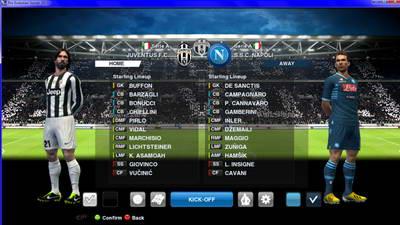 Background Match Juventus Stadium