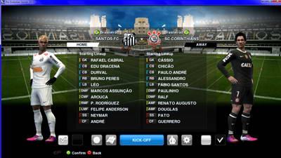 Background Match Vila Belmiro