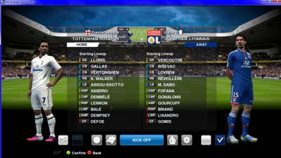 Background Match White Hart Lane Ketuban Jiwa