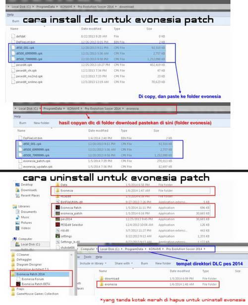 Cara Install PES 2014 Evonesia Patch v1.0 Ketuban Jiwa