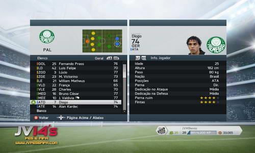 FIFA 14 Option File Brazilian Transfer Player PC-PS3-XBOX