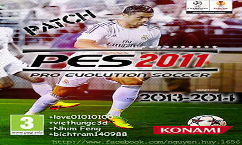 PES 2011 Patch New Season 13-14 (Final Fix) by bigboy Ketuban Jiwa