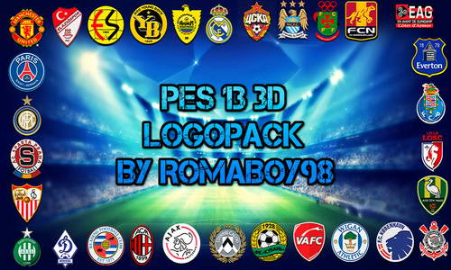 PES 2013 3D Logopack for PESEdit Patch 5.1+6.0 by RomaBoy98 Ketuban Jiwa