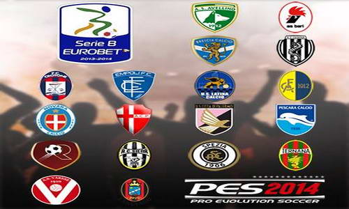 PES 2014 Added Calcio Serie B For PS3 by Pesfan Ketuban Jiwa