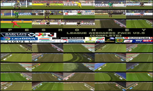 PES 2014 League Adboards Pack v3.5 by Pesmonkey Ketuban Jiwa
