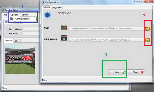 PES 2014 Pes Exe Editor version 1.4 by lagun-2 Ketuban Jiwa