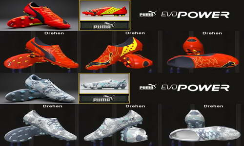 PES 2014 Puma Evopower Boots by Ron69 Download Link Ketuban Jiwa