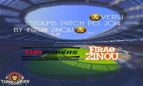 PES 2014 Stadiums Patch v1 by firas zinou