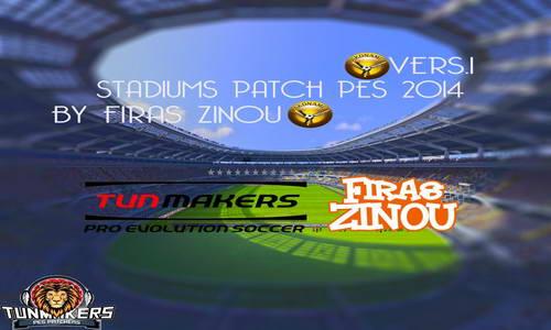 PES 2014 Stadiums Patch v1 by firas zinou