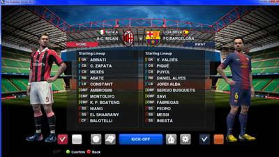 San Siro Match Background