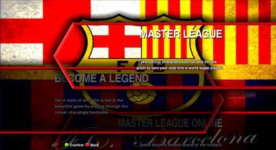Transparent Sub - menu single background - Barcelona FC Ketuban Jiwa