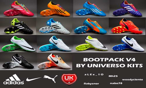 FIFA 14 Exclusive Bootpack v4.0 by Universo Kits Ketuban Jiwa