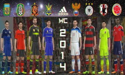 PES 2014 All Adidas World Cup Kits by Kolia V Ketuban Jiwa