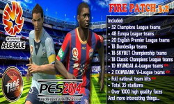 PES 2014 Fire Patch Version 3.2 AIO+Update 3.2.1 Hyundai A-league Ketuban Jiwa