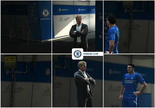 PES 2013 Chelsea Pack Football Life by Nilton1248 Ketuban Jiwa Screenshot 1