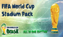 PES 2013 FIFA World Cup 2014 Stadium Pack by 02David20 Ketuban Jiwa
