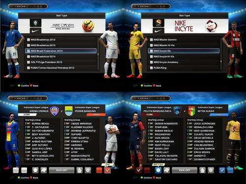 ... PES 2013 SUN Patch v2.0 Indonesia Super League-ISL 2014 Ketuban Jiwa