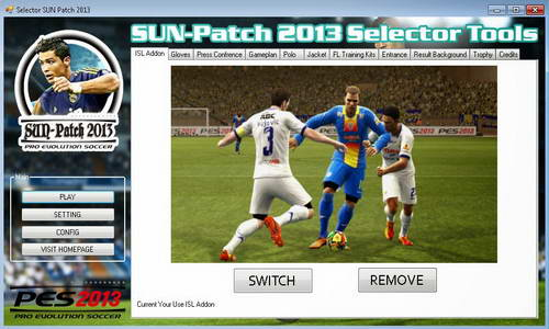 PES 2013 SUN Patch v2.0 Indonesia Super League-ISL 2014 Ketuban Jiwa