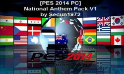 PES 2014 National Anthem Pack Version 1 by Secun1972 Ketuban Jiwa