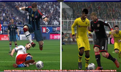 FIFA 14 Bundesliga Kitspack 2013-2014 by FIFADome Ketuban Jiwa