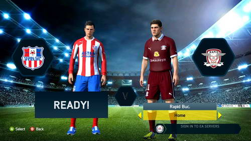 FIFA 14 FPRL-Spring Edition-Romanian League Single Link Ketuban Jiwa SS1