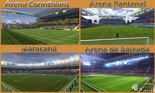 FIFA 14 World Cup 2014 Stadium Pack by Williams9991 Ketuban Jiwa