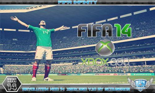 FIFA 14 XBOX 360 Revolution Mod Patch v1.0 Single Link Ketuban Jiwa
