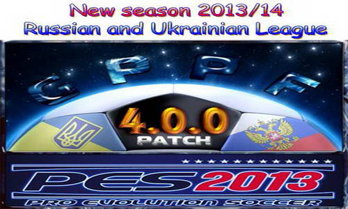 PES 2013 GPPF Patch 4.0.0 New Season 13-14 by Radymir Ketuban Jiwa