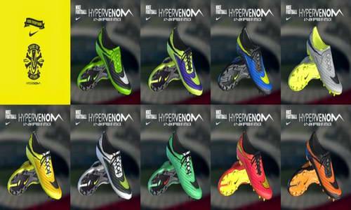 PES 2013 Nike Hypervenom FG Bootpack Update by WENS Ketuban Jiwa