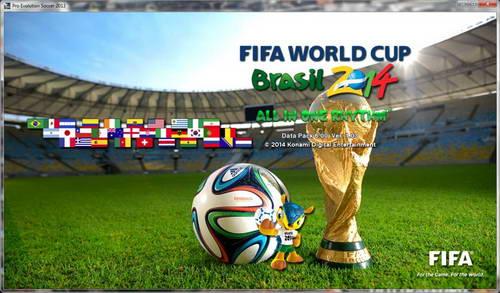 PES 2013 Ultimate PESEdit v2 AIO World Cup 2014 Version Ketuban Jiwa SS1