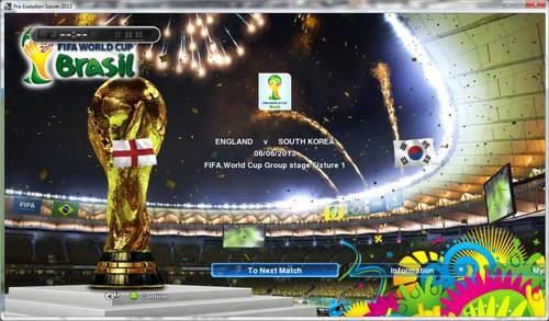 PES 2013 Ultimate PESEdit v2 AIO World Cup 2014 Version Ketuban Jiwa SS3
