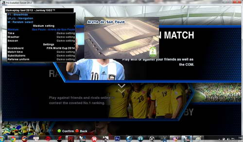 PES 2013 Ultimate PESEdit v2 AIO World Cup 2014 Version Ketuban Jiwa SS5