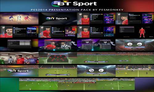 PES 2014 BT Sport Presentation Pack+Replay Fix by Pesmonkey Ketuban Jiwa