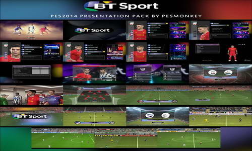 PES 2014 BT Sport Presentation Pack+Replay Fix by Pesmonkey