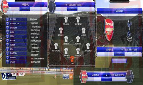 PES 2014 Barclays Premier League (EPL) Scoreboard v1 by Mohammad 78 Ketuban Jiwa