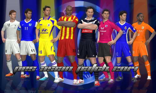 PES 2014 PES Asian Patch 1.0+1.0.1 Fix Single Link