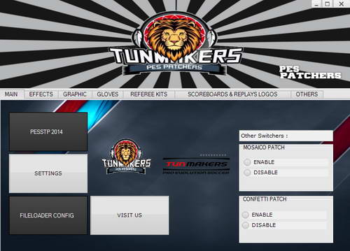 PES 2014 PESSTP Patch v2.0 (Tunisian League) by Tun Makers Ketuban Jiwa SS1