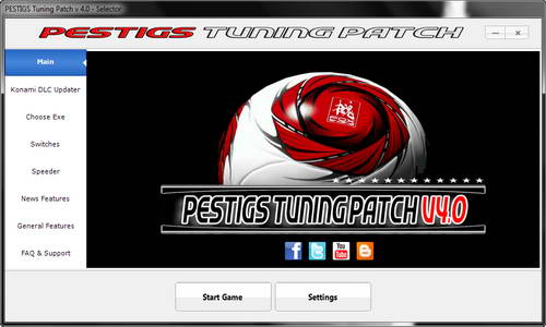 PES 2014 PESTIGS Tuning Patch 4.0 (DLC 6.10) Multi Link