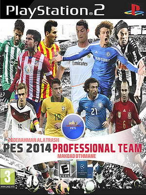 PES 2014 PS2 Professional Team Version French Patch by Makdad Ketuban Jiwa