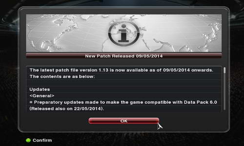 PES 2014 Patch 1.13 CrackFix Reloaded Multi Link