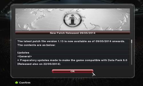 PES 2014 Patch 1.13 CrackFix Reloaded Multi Link Ketuban Jiwa