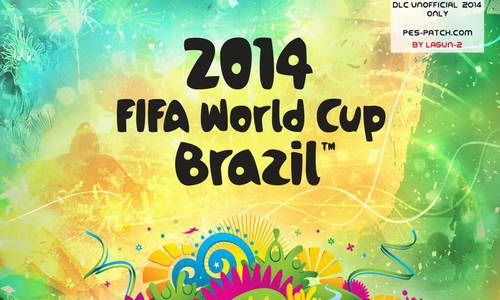 PES 2014 Unofficial World Cup 2014 DLC (Pes-Patch.com 1.2) by Lagun-2 Ketuban Jiwa