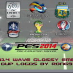 PES 2014 Wave Glossy Emblem/Cup Logos by Ron69