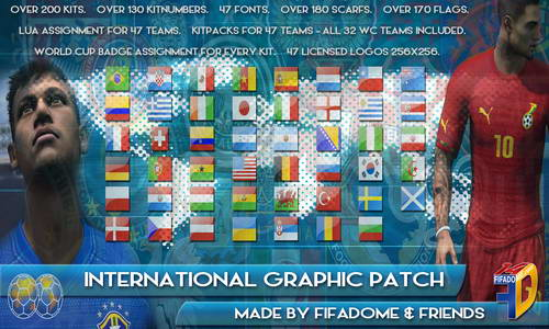 FIFA 14 International Graphic Patch by Fifadome&Friends Ketuban Jiwa