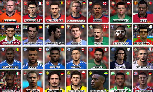 FIFA 14 International Mega Facepack Vol.1 by utopia79 Ketuban Jiwa